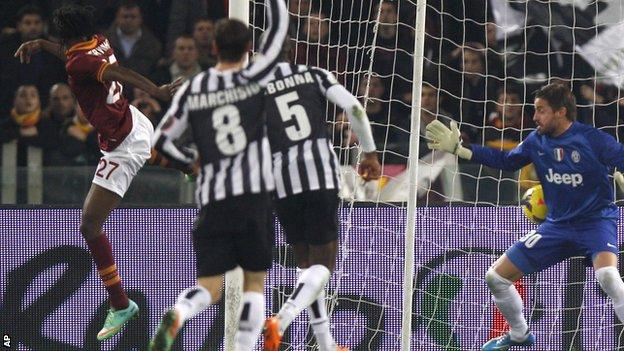 Roma v Juventus