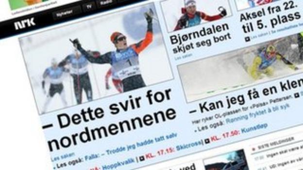 Andrew Musgrave on NRK website