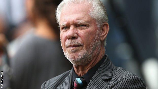 West Ham co-chairman David Gold