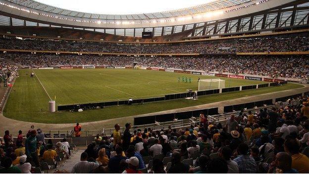 Cape Town Stadium, one of the 2104 CHAN venues