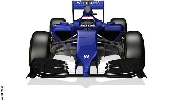 Williams announce new car - Williams Mercedes FW36