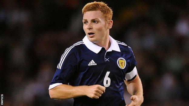 Wigan's Scotland Under-21 international midfielder Fraser Fyvie
