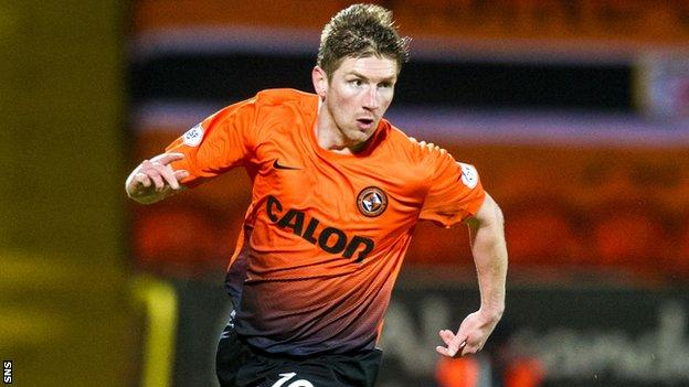 Dundee United's Mark Wilson