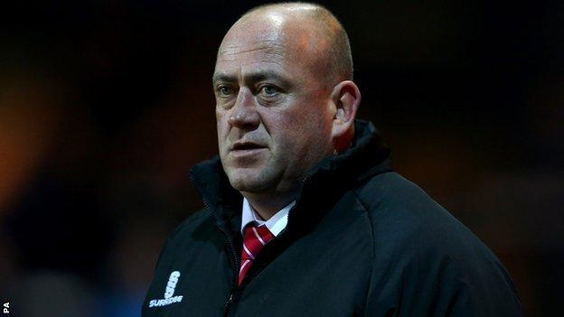 Former Kidderminster Harriers manager Andy Thorn