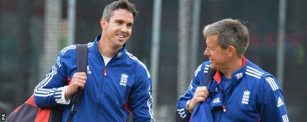 Kevin Pietersen & Ashley Giles