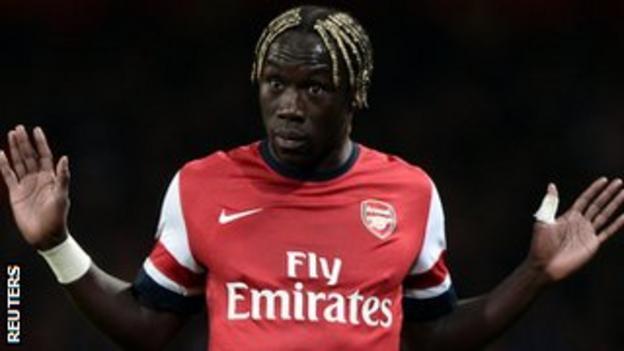 Arsenal right-back Bacary Sagna