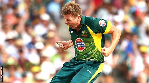Australia bowler James Faulkner