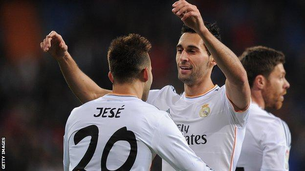 Real Madrid win to reach Copa del Rey semi-finals