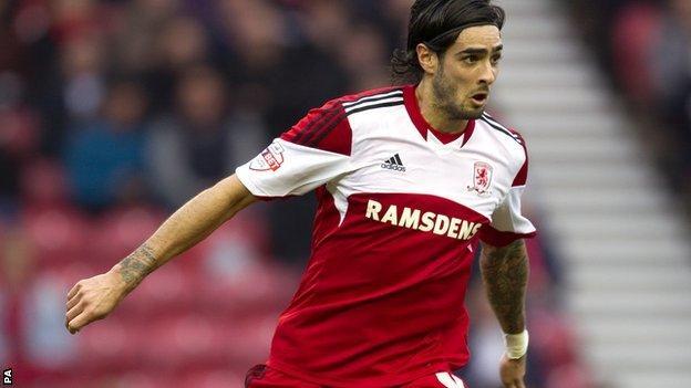 Middlesbrough defender Rhys Williams