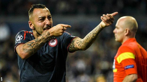Konstantinos Mitroglou has joined Fulham