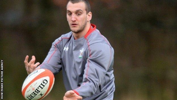 Wales flanker Sam Warburton