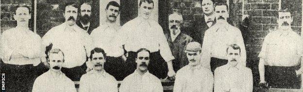 Preston North End, League and FA Cup winners 1888-89
