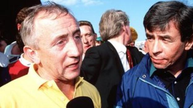 Pete McGrath's Down side defeated Sean Boylan's Meath in the 1991 All-Ireland Final