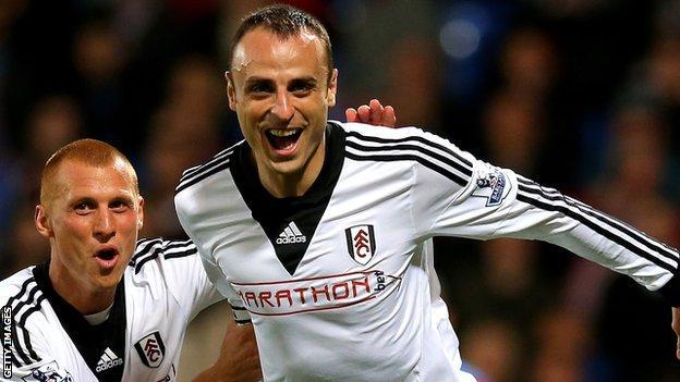 Bulgaria striker Dimitar Berbatov.