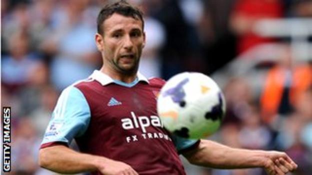 West Ham defender Razvan Rat