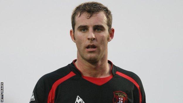 Carlisle United's Danny Livesey