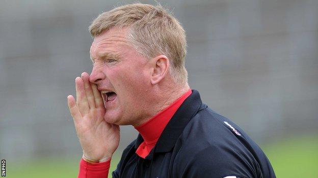 Down hurling manager Gerard Monan