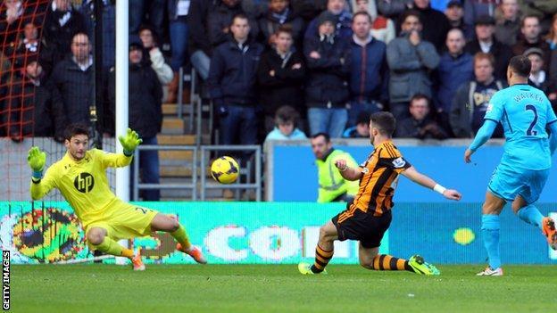 Hull City's Shane Long