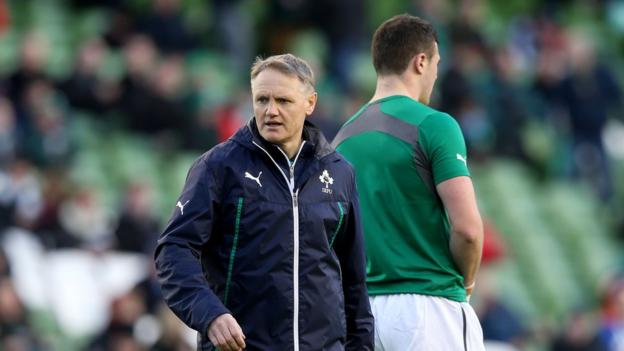 """Ireland coach Joe Schmidt admitted to being """"relieved"""" after his first Six Nations game in charge ended in victory"""