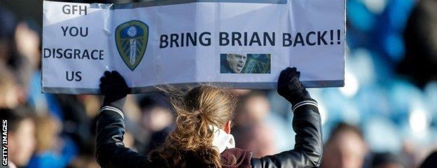 Leeds fans have been angered by the turmoil at Elland Road
