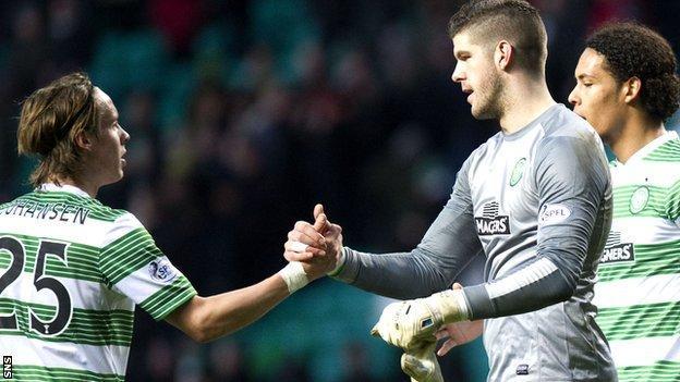 Celtic's Fraser Forster