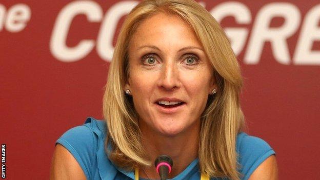 Britain's Paula Radcliffe