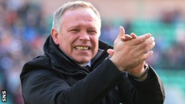 Caley Thistle manager John Hughes