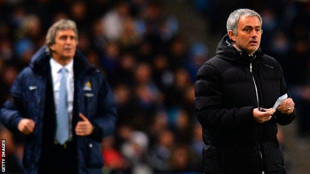 Jose Mourinho & Manuel Pellegrini