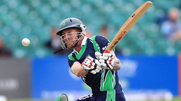 John Mooney in action against Bangladesh in 2012