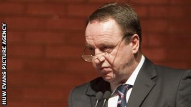 WRU finance director Steve Phillips