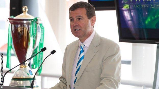 WRU chief executive Roger Lewis