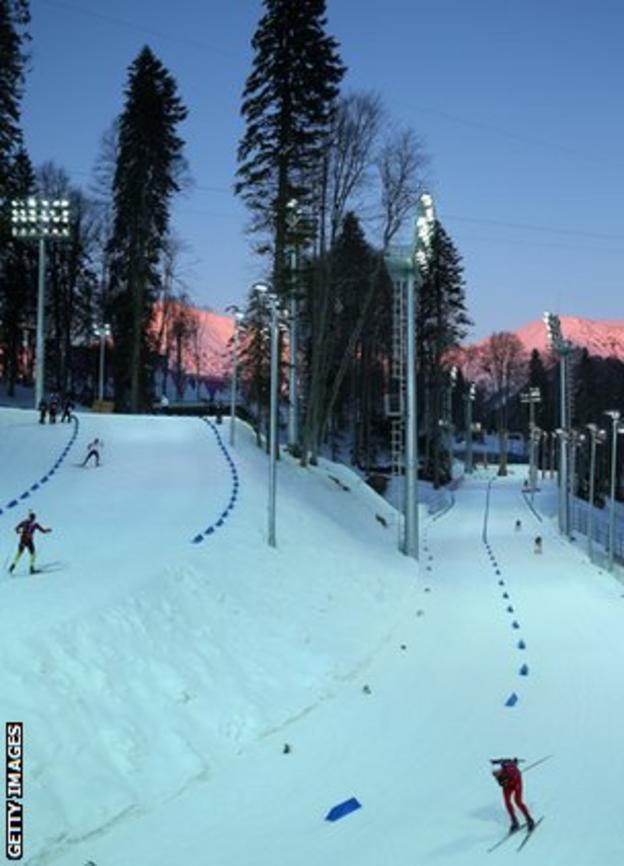 Sochi's £31billion Olympics