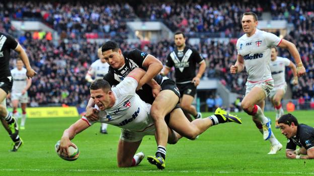 Sam burgess 39 best 2013 rugby league world cup moments bbc sport - English rugby union league tables ...