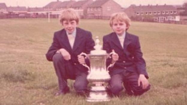 Steve (left) and Kevin Cram