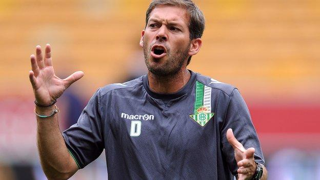 West Bromwich Albion coach David Gomez, who previously worked under Baggies boss Pepe Mel at Real Betis