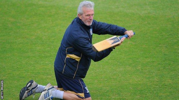 Durham director of cricket Geoff Cook