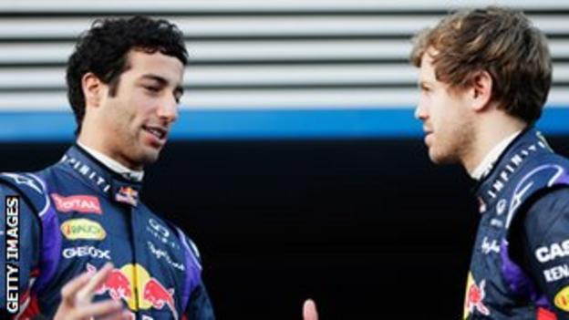 Daniel Ricciardo will give Sebastian Vettel a hard time in qualifying this year, says former Red Bull driver Mark Webber.