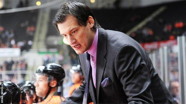 New Coventry Blaze coach Matt LeFebvre