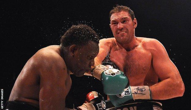 Dereck Chisora and Tyson Fury