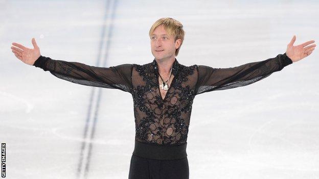 Evgeni Plushenko at Sochi 2014
