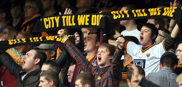 Hull City supporters have formed the supporters' group, City Till We Die