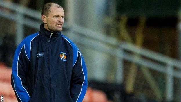 Kilmarnock boss Allan Johnston was left frustrated at his side's defending.