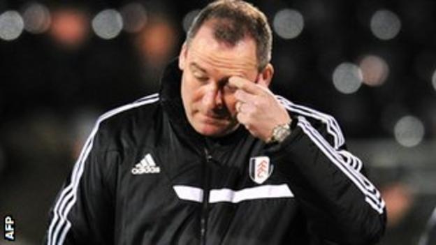 Rene Meulensteen took over as Fulham manager in December 2013 after Martin Jol's sacking.