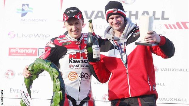 Ryan Farquhar (right) and Jeremy Williams (left) will be racing at the North West 200