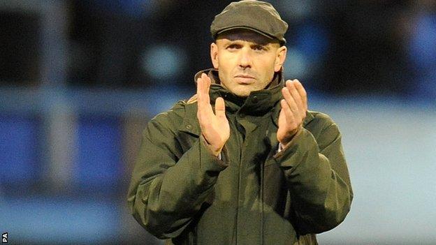 Exeter City boss Paul Tisdale