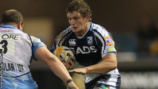 Cardiff Blues Rory Watts-Jones