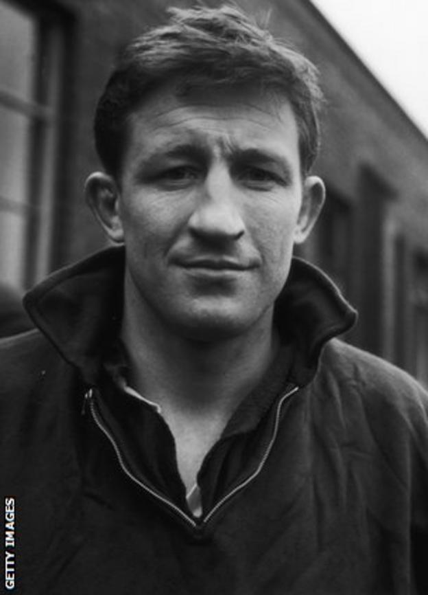 Jim Telfer pictured in 1965