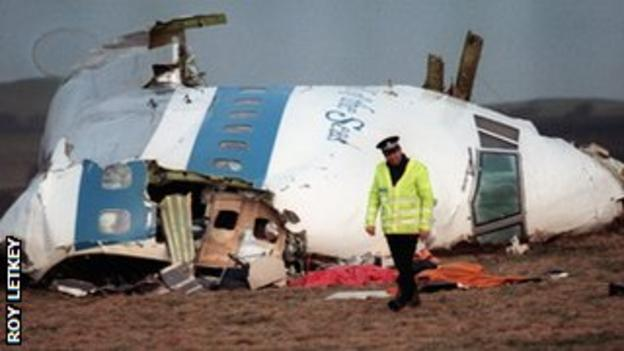Lockerbie plane