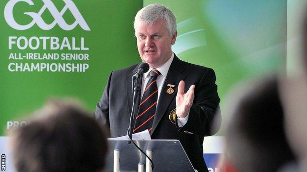 Cavan's Aogan Farrell has been elected GAA President