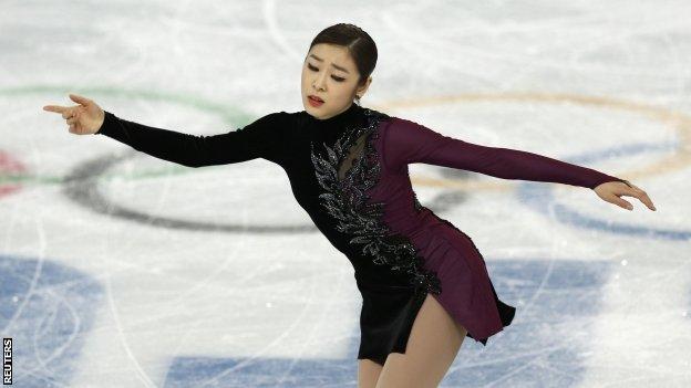 South Korea's Kim Yuna